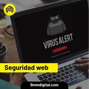 9mm agencia digital, seguridad web